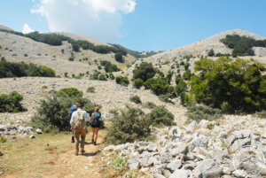 In the heart of the Carbonara Massif - Full day hike