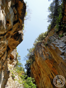 Inside the Gorges of Tiberio