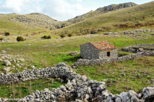 Ancient shepherds' settlement in the Madonie