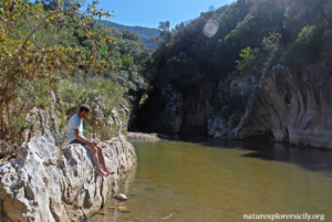 Relax at the Gorges of Tiberio